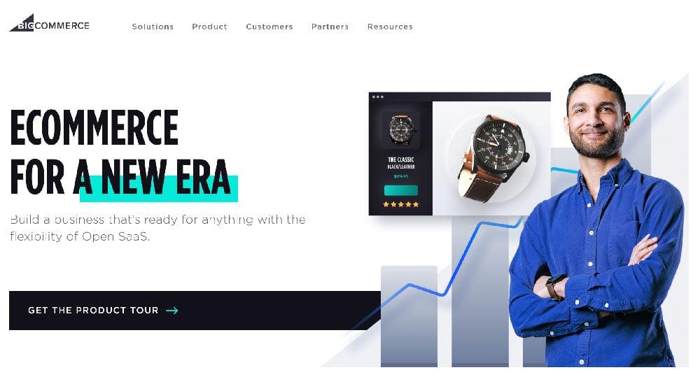 Plataforma ecommerce las mejores de venta digital BigCommerce