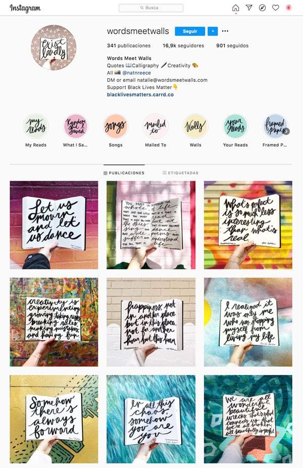 Biografia-de-Instagram-wordsmeetwall