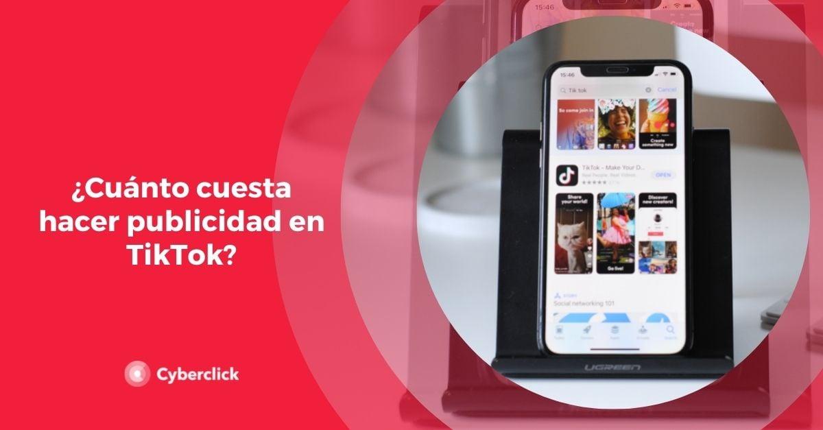 Cuanto cuesta hacer publicidad en TikTok