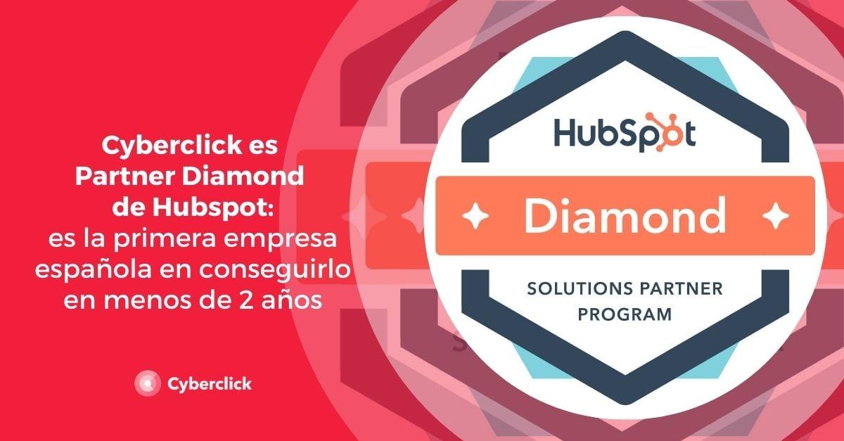 Cyberclick es Partner Diamond de Hubspot