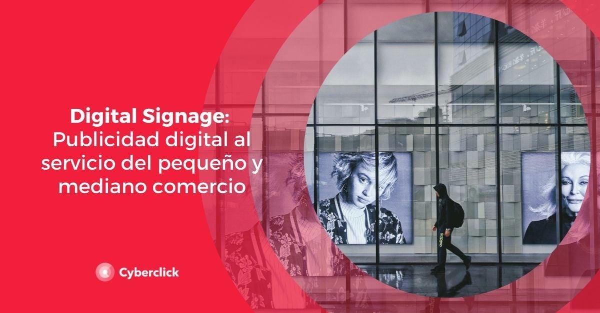 Digital Signage Publicidad digital al servicio del pequeno y mediano comercio