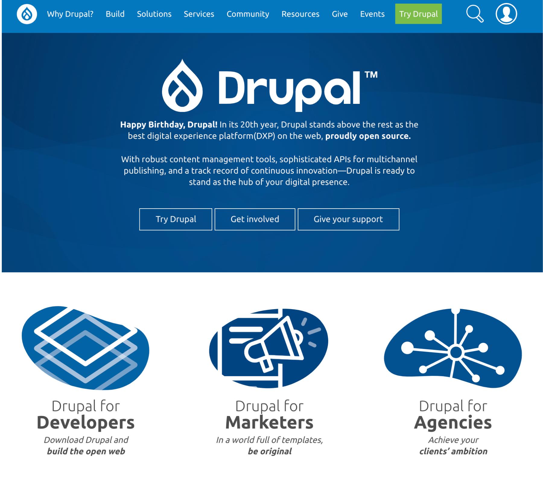 Drupal - CMS que es y los mejores gestores de contenidos