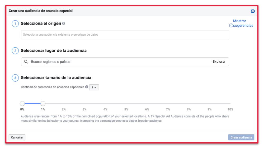 Facebook-Ads-Audiencia-anuncio-especial Segmentacion y remarketing en redes sociales como hacerlo con exito