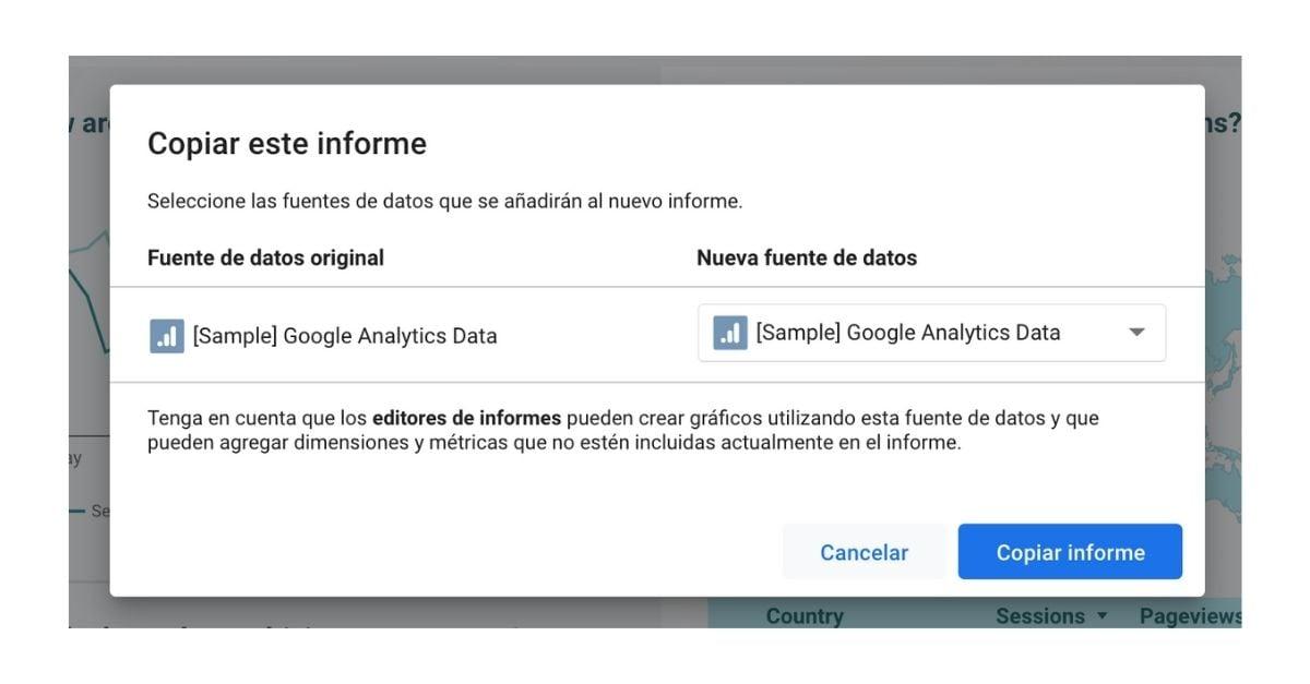 Google Data Studio que es y como convertir tus datos en estudios - Ejemplo