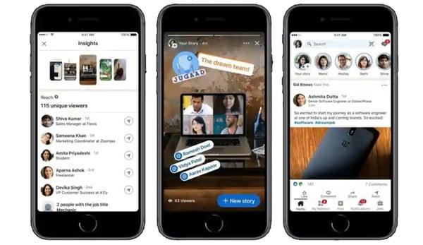 LinkedIn-Stories
