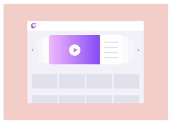 Marketing Twitch - Homepage Carousel