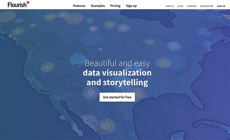 Marketing de contenidos las mejores herramientas para crear infografias - Flourish