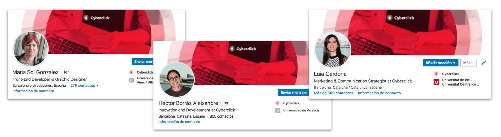 Perfil profesional - Como usar LinkedIn en tu plan de Inbound Marketing
