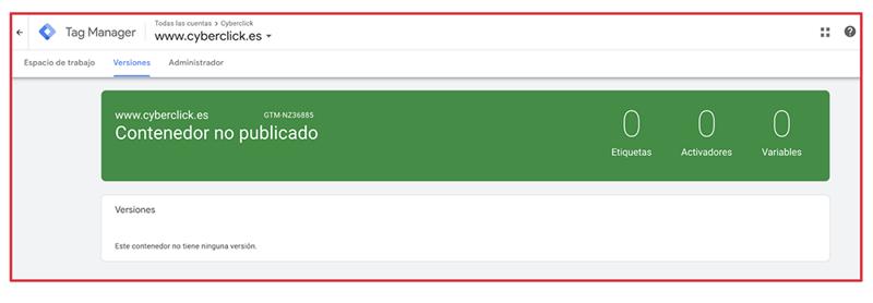 Que es Google Tag Manager - Versiones 2-1