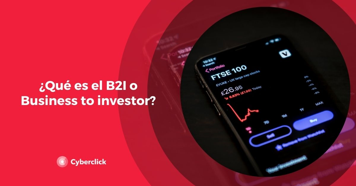 Que es el B2I o Business to investor