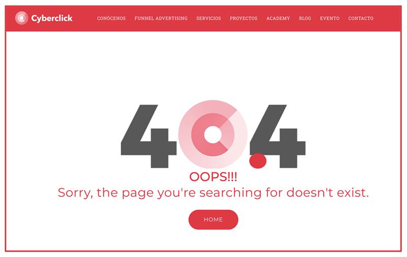 Que es el error 404 1-1