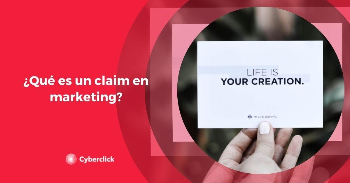 Que es un claim en marketing