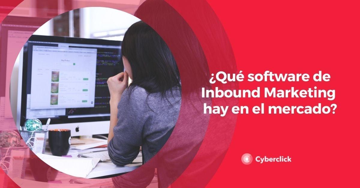 Que software de Inbound Marketing hay en el mercado