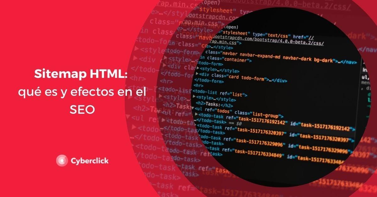 Sitemap HTML que es y efectos en el SEO