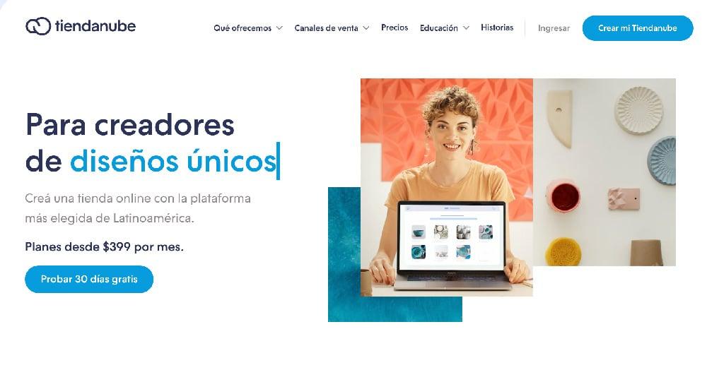 Plataforma ecommerce las mejores de venta digital TiendaNube