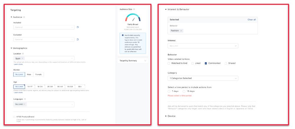 TikTok-Ads-Targeting Segmentacion y remarketing en redes sociales como hacerlo con exito