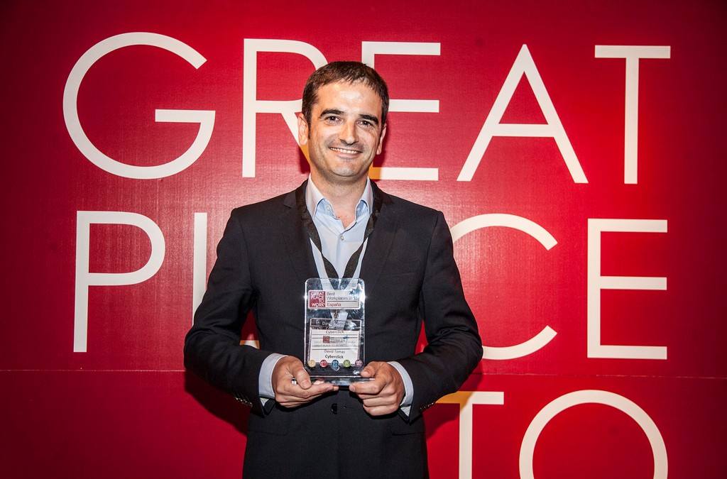 Premio Great Place to Work Cyberclick