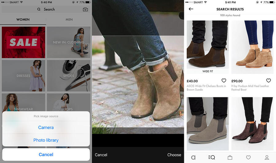 Asos Visual Search