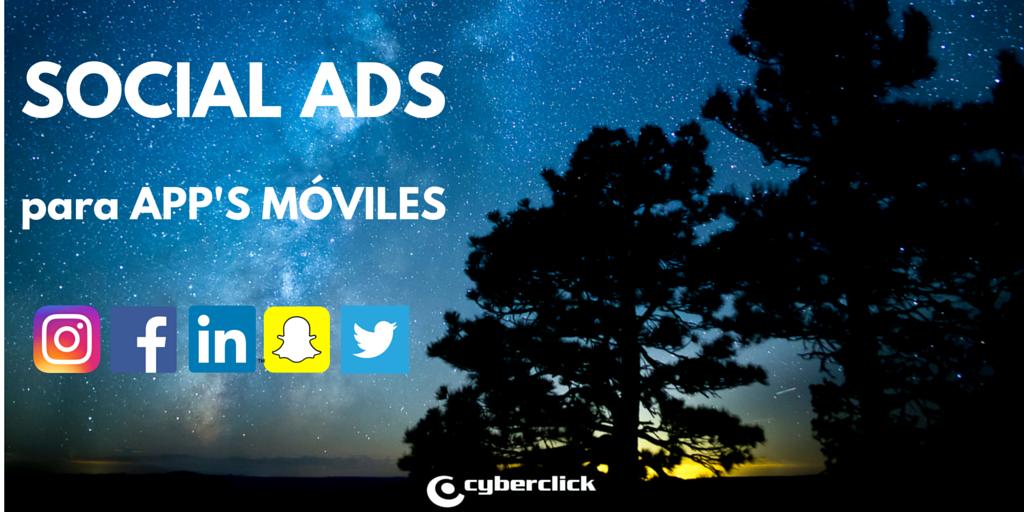 Consigue mas descargas de tu app movil con social ads