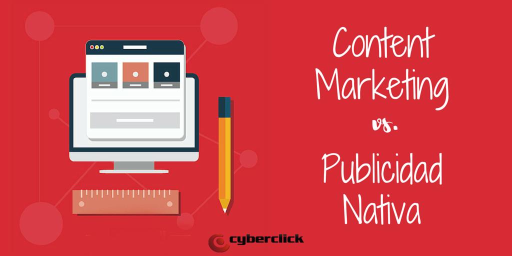 Content Marketing vs Publicidad Nativa similitudes y diferencias