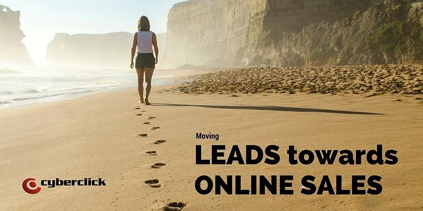 Identifying potential online sales amongst qualified leads