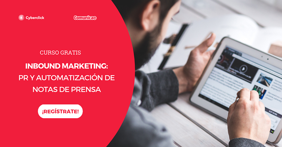 Curso Inbound Marketing + PR - Landing y CTA blog (CURSO)