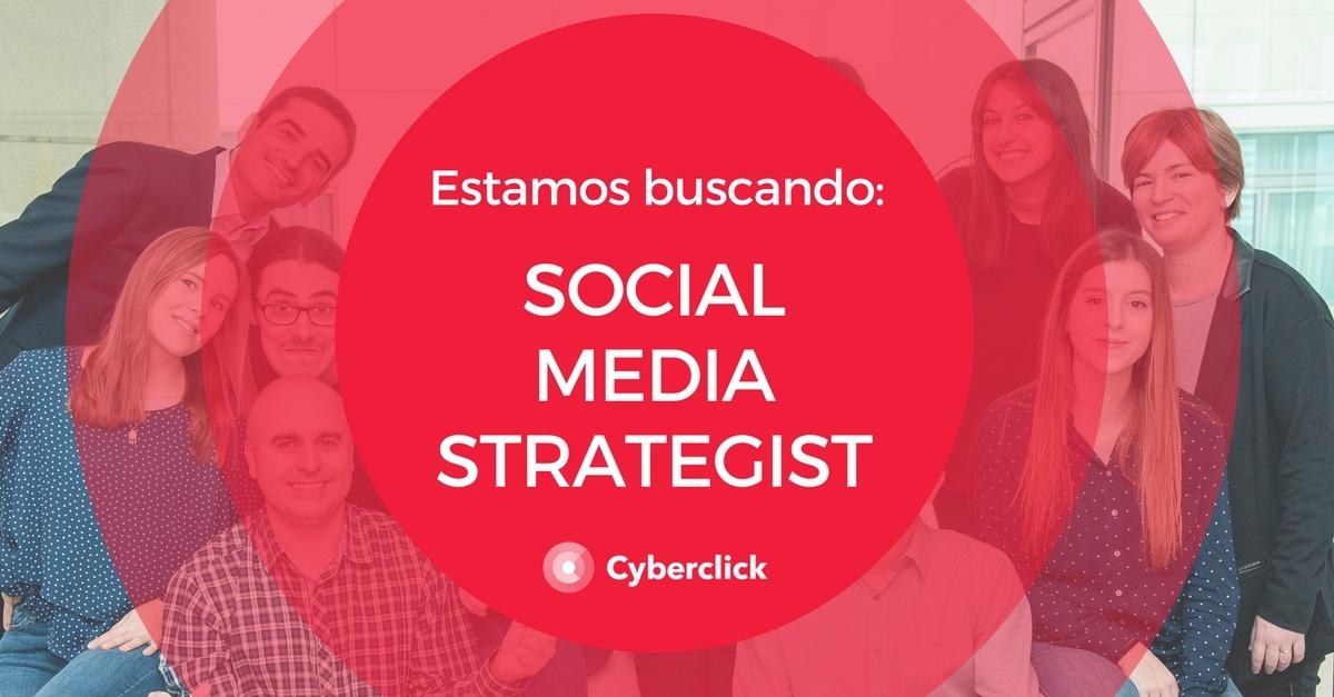 Estamos buscando Social Media Strategist