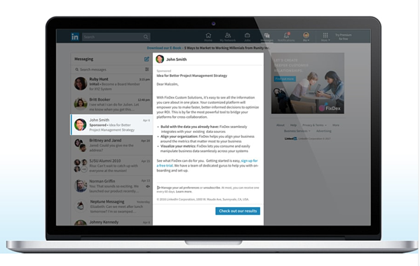 Guia imprescindible para la publicidad en LinkedIn - Sponsored Inmail