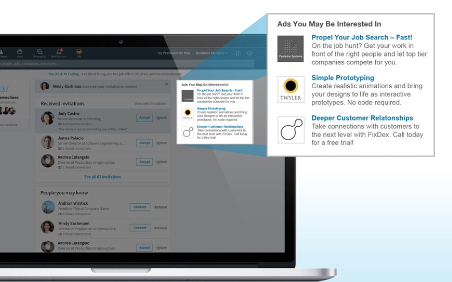 Guia imprescindible para la publicidad en LinkedIn - Text Ads