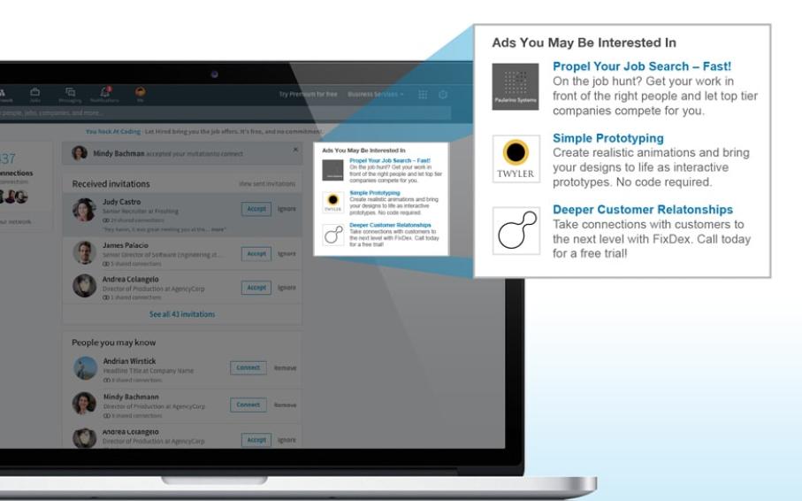 Guia imprescindible para la publicidad en LinkedIn - Text Ads