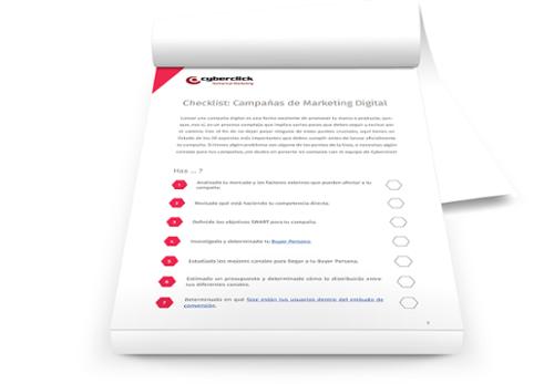 Checklist con los puntos imprescindibles para montar tus campanas de marketing online