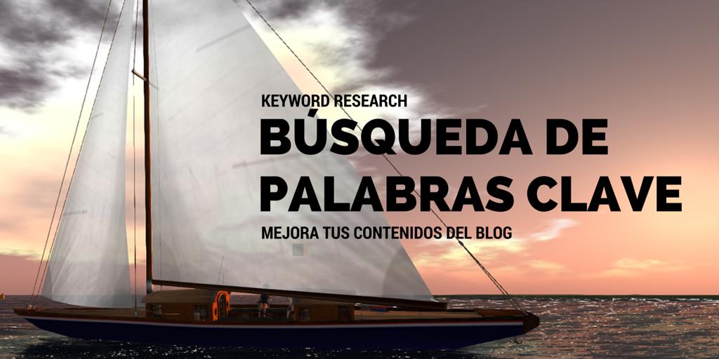 """""""Keyword research"""" para mejorar los contenidos de tu blog - Header"""