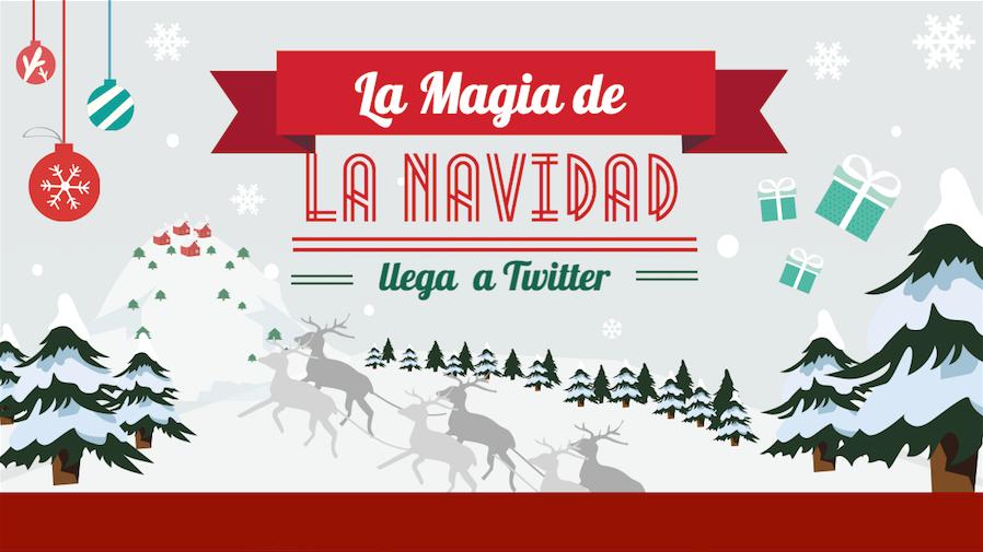 La magia de la Navidad llega a Twitter