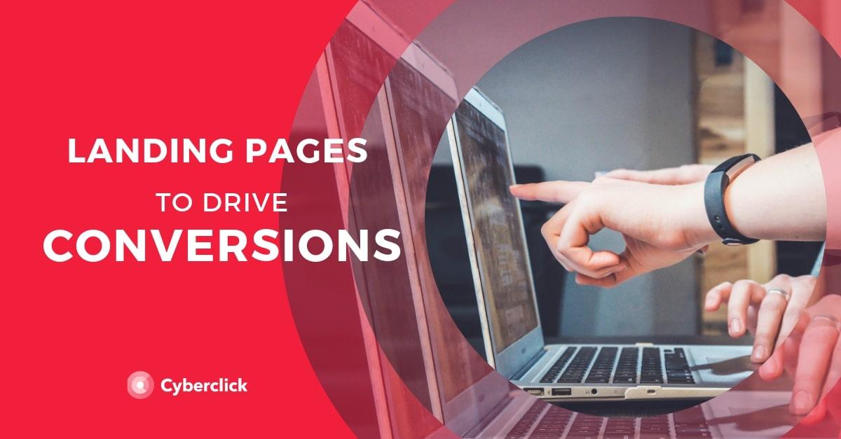 Landing Pages + conversions