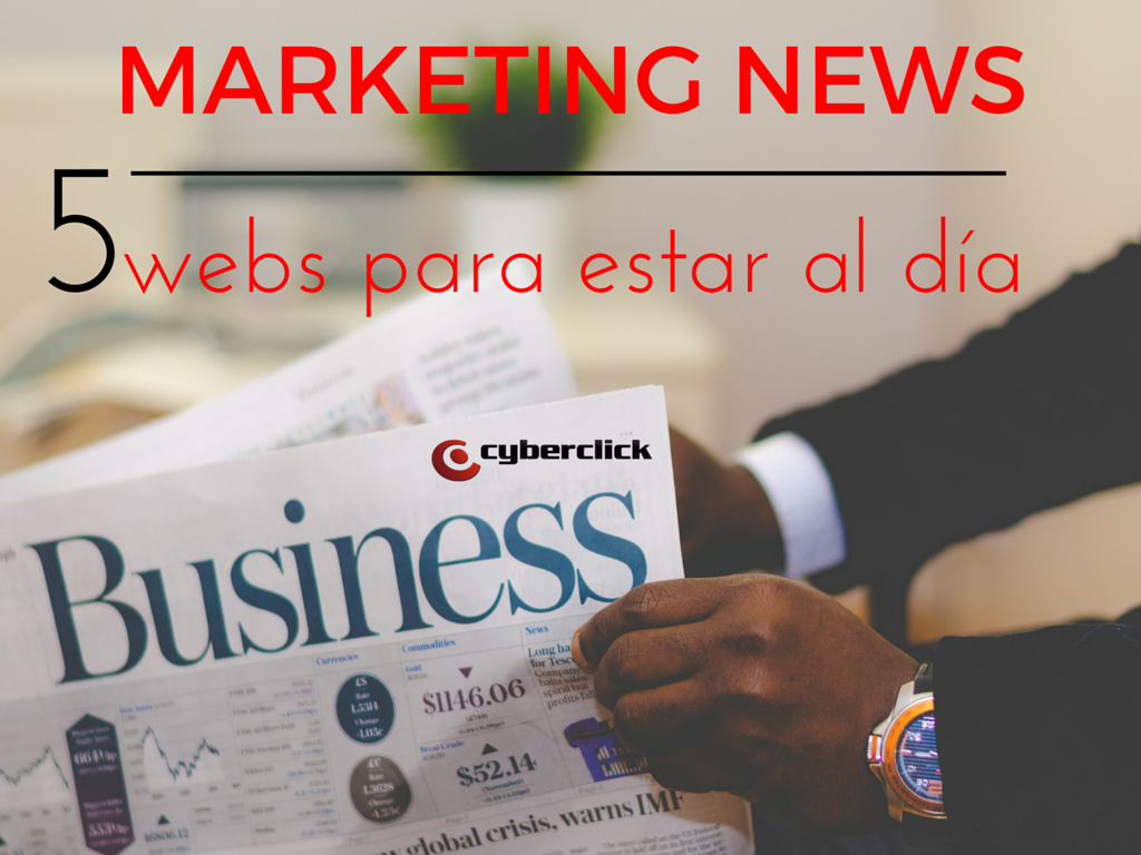 Marketing News 5 webs para estar al día
