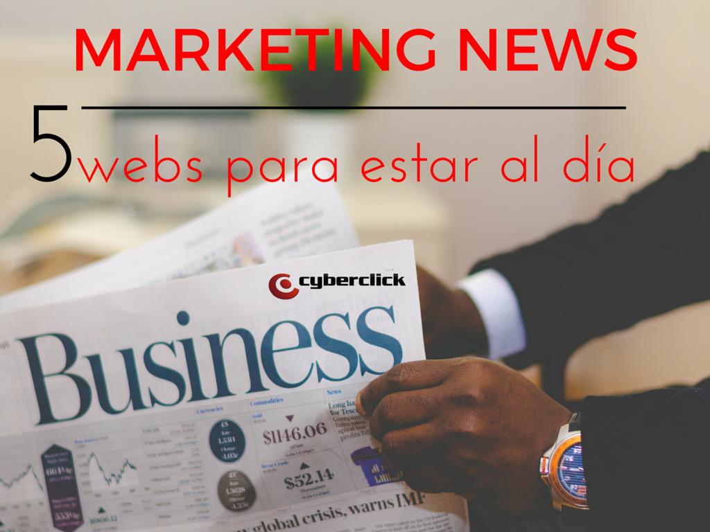 Marketing News 5 webs para estar al día