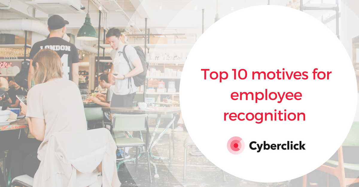 Motives for employee recognition