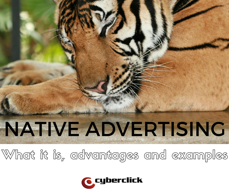 Native Advertising - What it is, advantages and examples