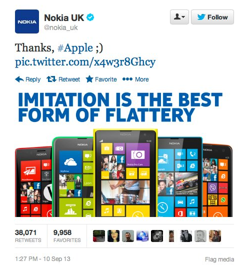Los 8 mejores tweets de marcas de todos los tiempos Nokia