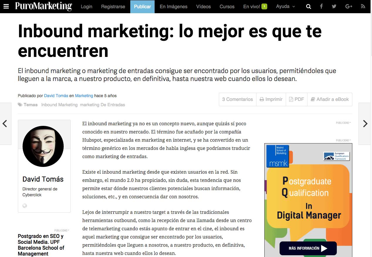 Marketing News Puro Marketing