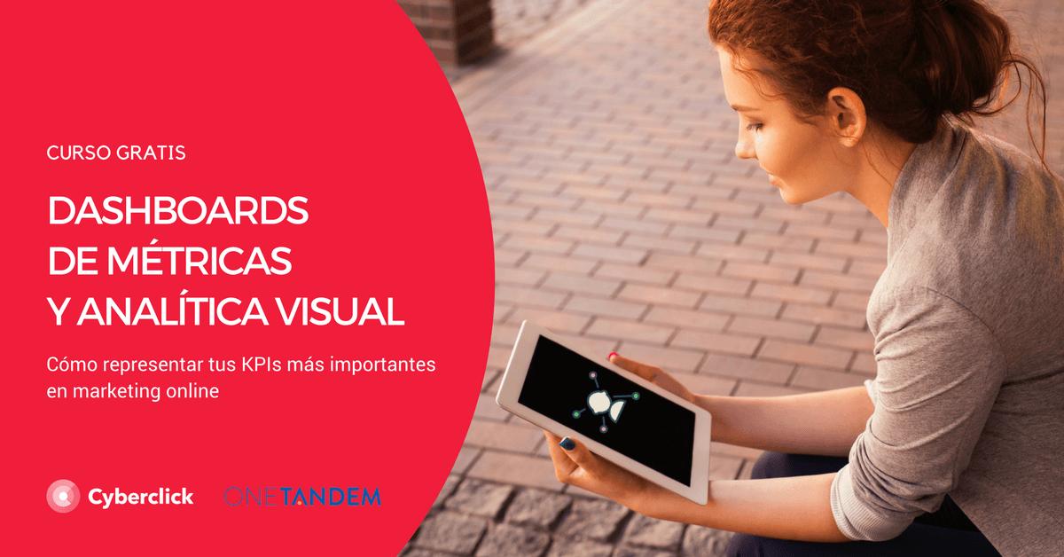 Curso Analítica Visual y Métricas - Landing