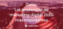 Curso tendencias marketing 2020 - Academy