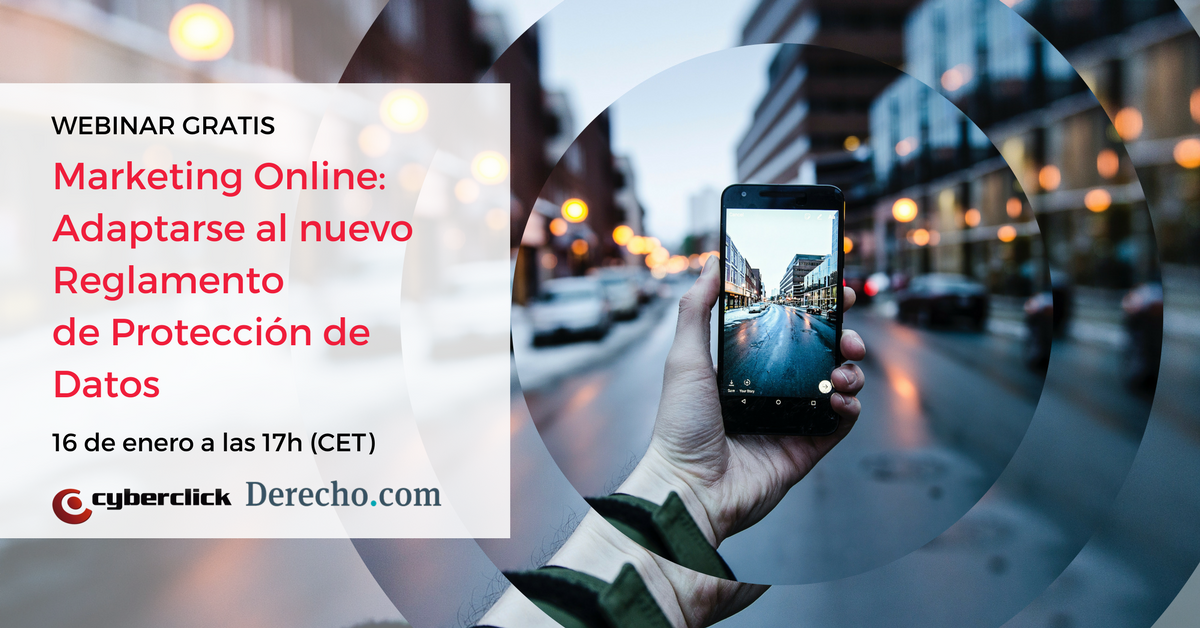 Webinar Marketing Online Adaptarse al nuevo Reglamento de Proteccion de Datos