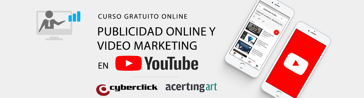 Curso gratuito Youtube Publicidad Digital y Vídeo Marketing