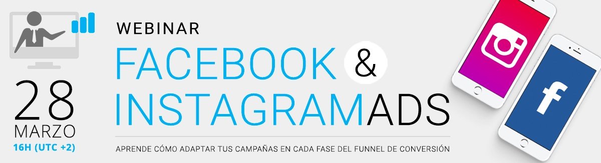 Webinar Cyberclick sobre Facebook e Instagram Ads