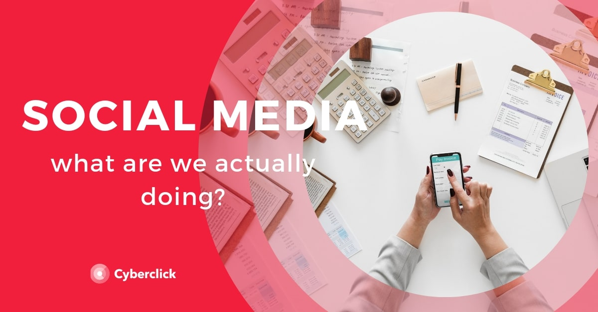 What are we actually doing on social media_