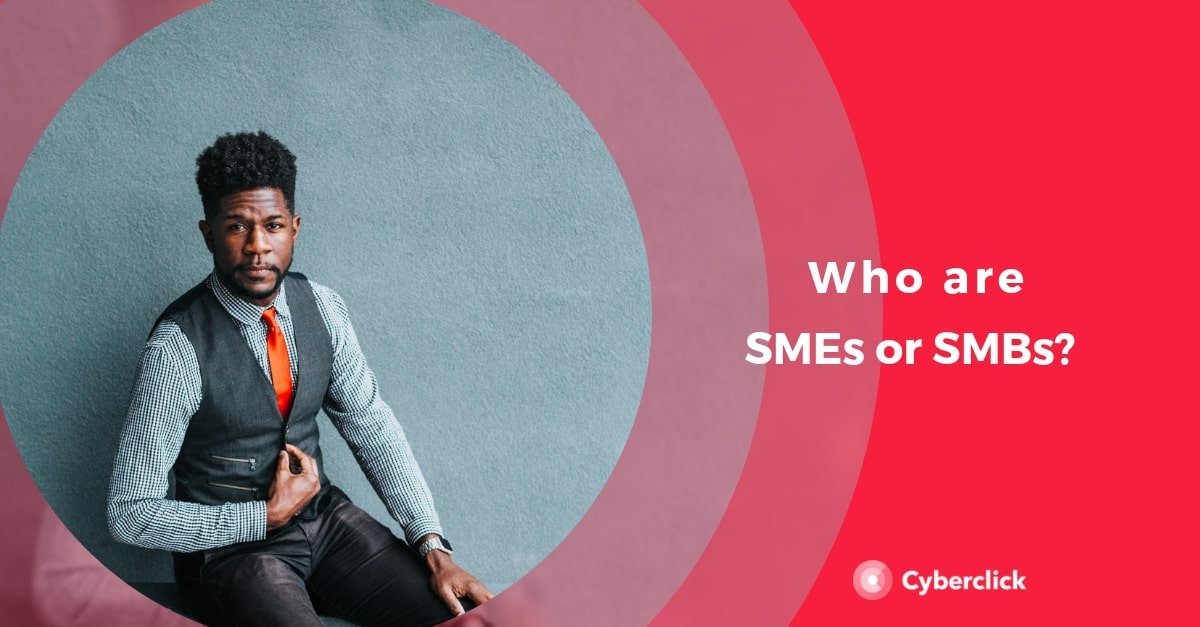 Who are the SME and SMB target market group?