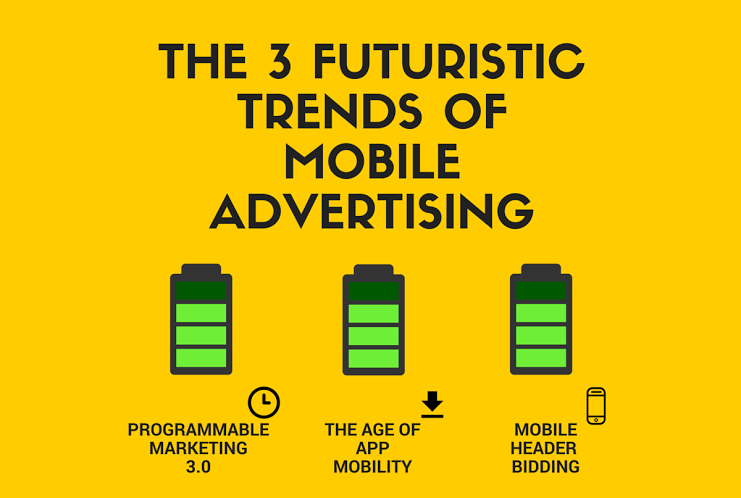 The 3 futuristic trends of mobile advertising