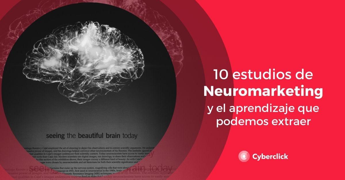 10 estudios recientes de neuromarketing y el aprendizaje que podemos extraer