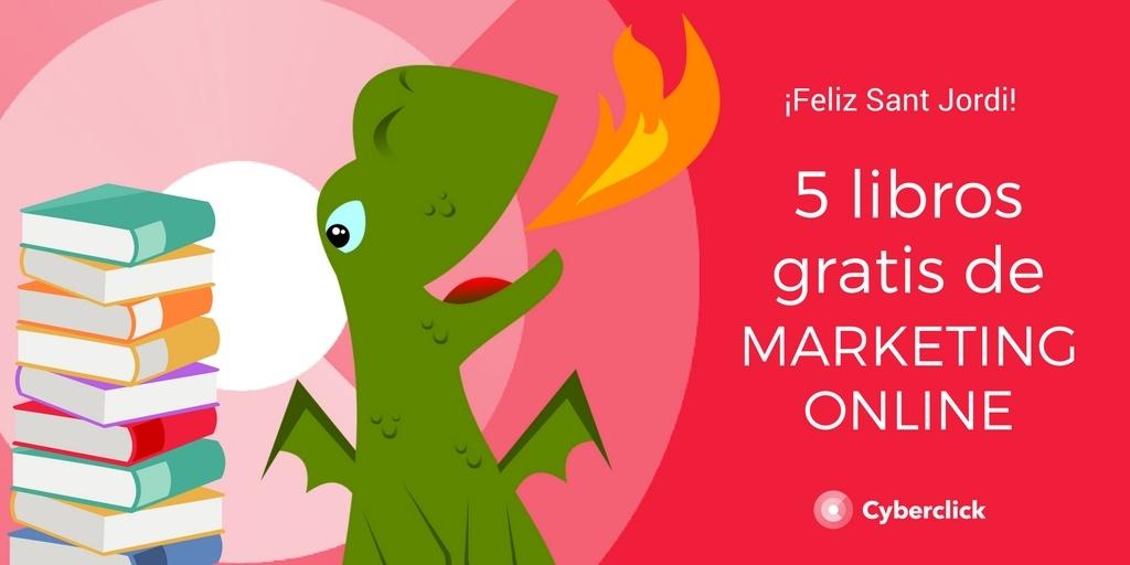 5 libros gratis de marketing online Sant Jordi